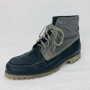 Timberland Leather Lace Up Chukka Boot Boat Shoe